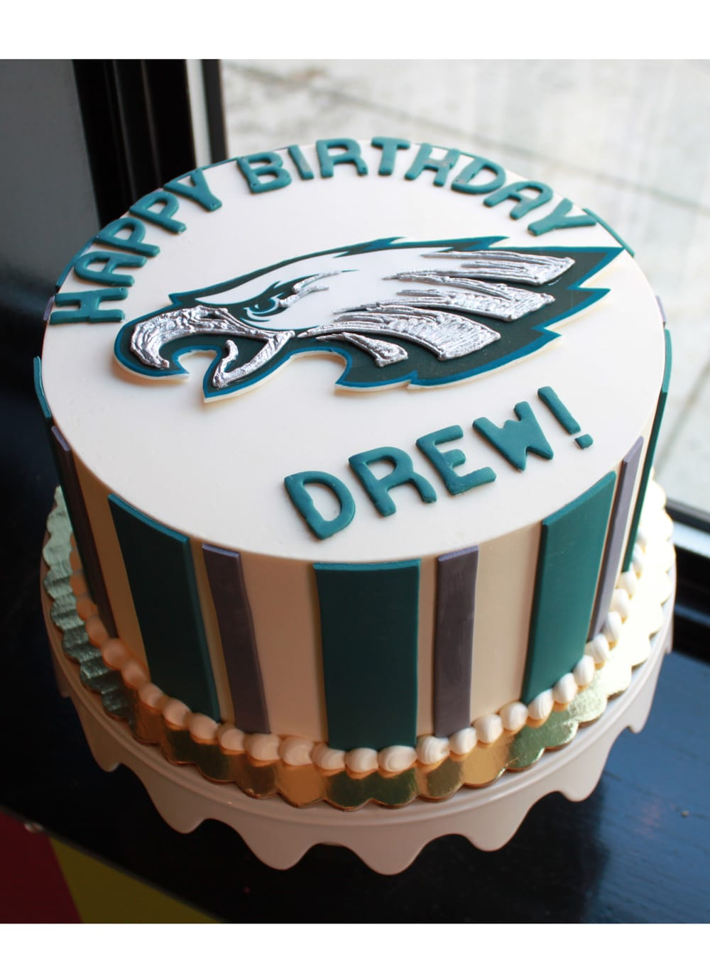 Eagles Birthday Cake