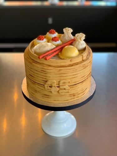 Dim Sum Cake