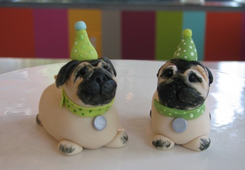 Edible Pugs by Whipped Bakeshop