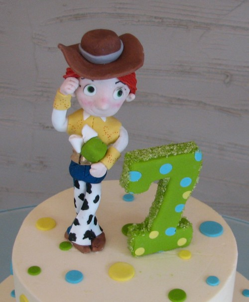 Jessie Toy Story Birthday Cake by Whipped Bakeshop