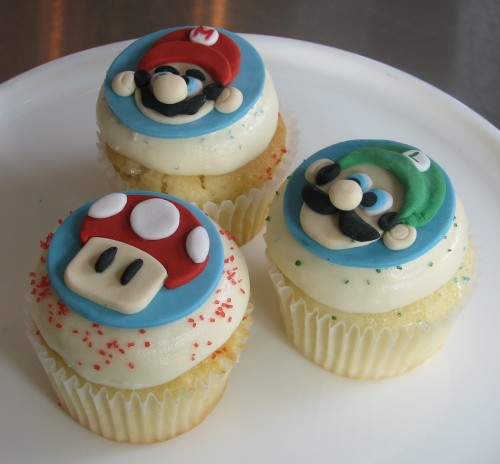 Super Mario Bros. Cupcakes by Whipped Bakeshop