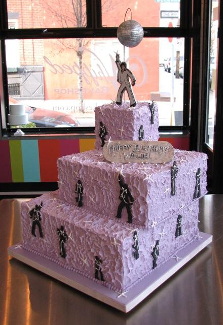 Saturday Night Fever Cake