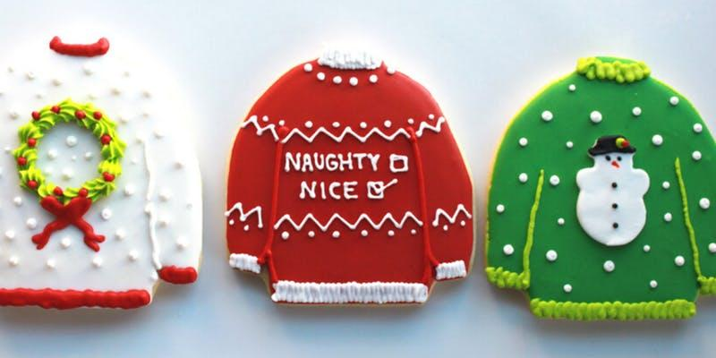 Whipped Bakeshop Ugly Sweater Holiday Cookie Class