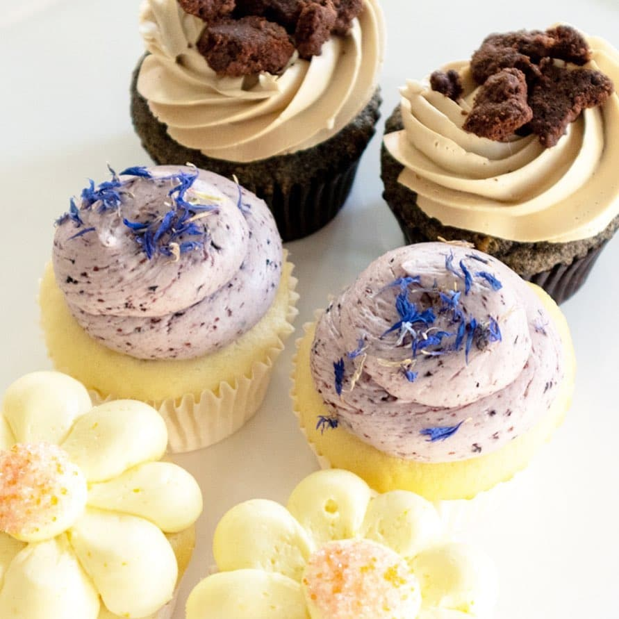 whipped bakeshop wedding cupcakes
