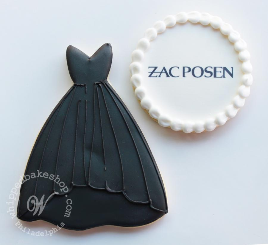 Zac Posen Dress Cookies by Whipped Bakeshop