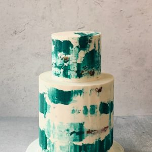 Micro Wedding Cake by Whipped Bakeshop in Philadelphia