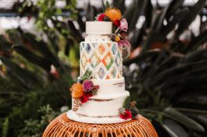 Jake Elliott Wedding Cake by Whipped Bakeshop