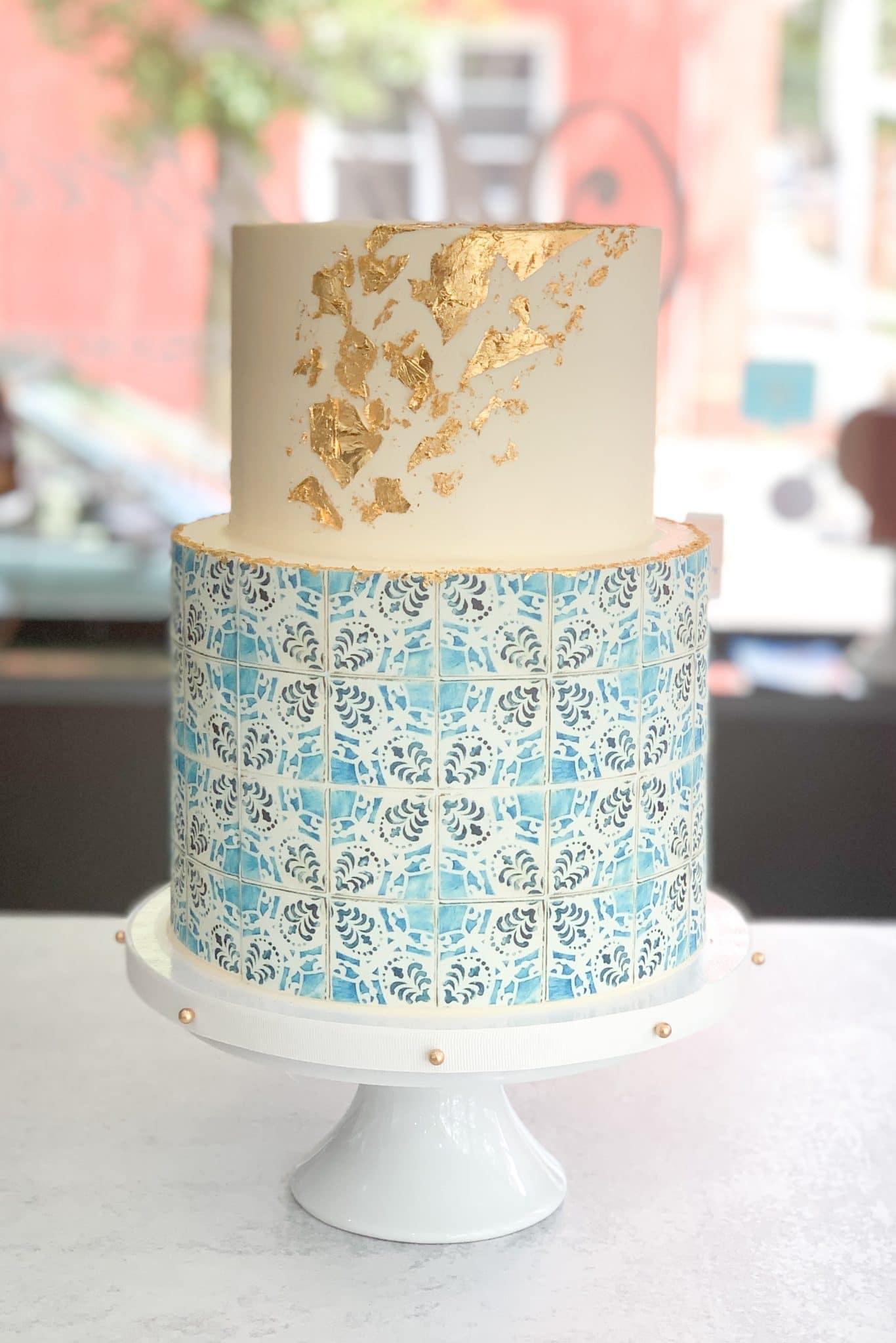 custom-tile-wedding-cake-whipped-bakeshop